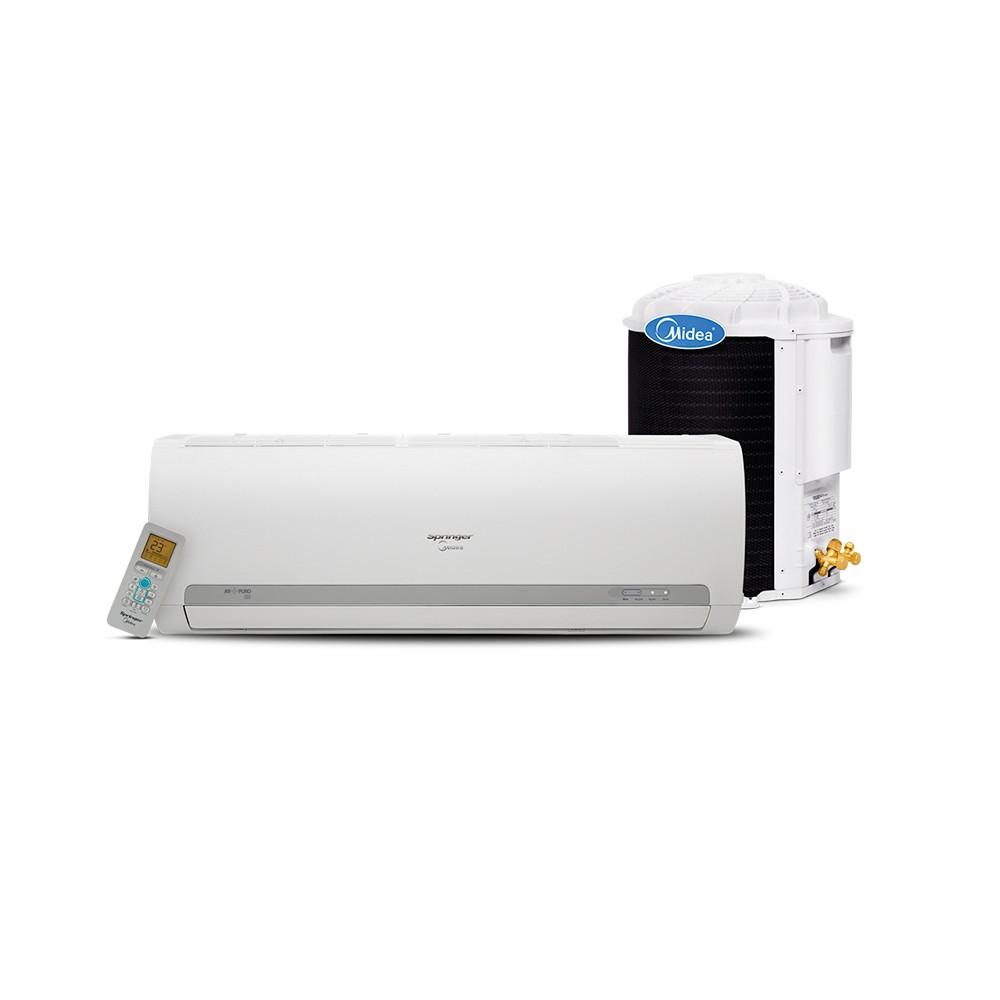 Ar Condicionado Split Hi Wall Springer Midea Eco 18.000 BTUs Quente/Frio 220V