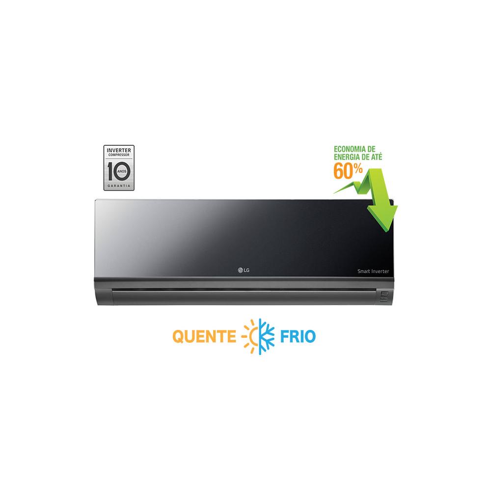 Ar Condicionado Split LG Smart  Inverter Artcool 9.000 BTUsQuente/Frio