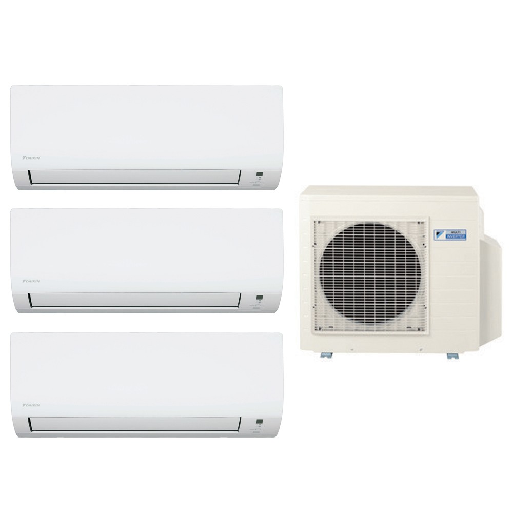 Ar Condicionado Multi Split Advance Inverter Daikin 2X9.000 + 1X12.000 + Cond. 18.000 BTUs Quente/Frio - 220V