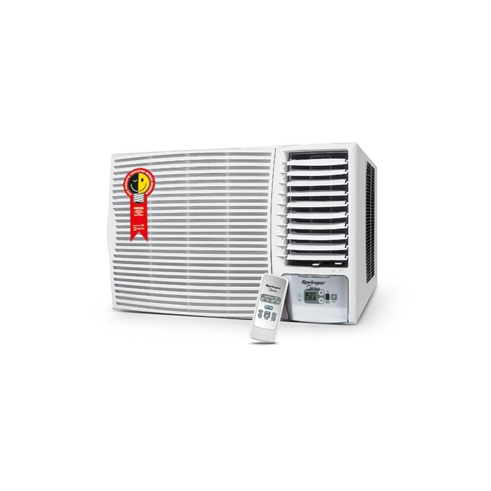 Ar Condicionado Janela Springer Midea Silentia 21.000 BTUs Frio R-410A Eletrônico