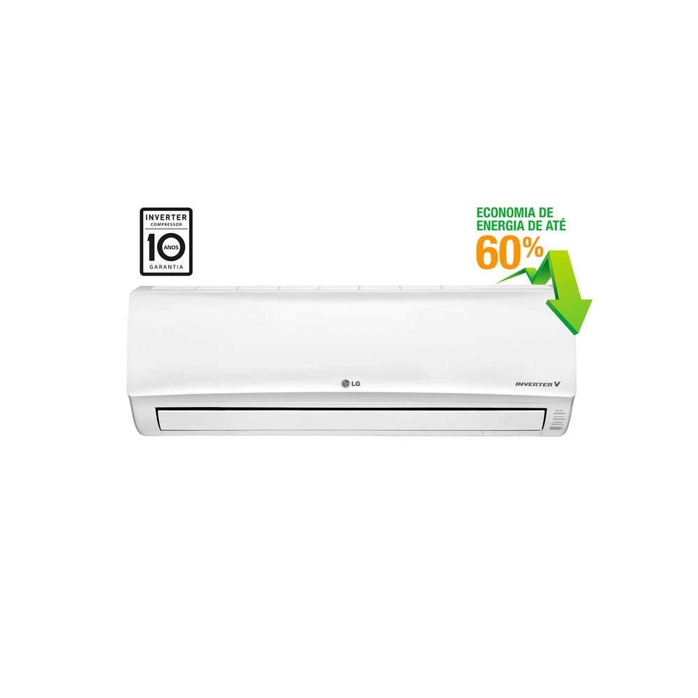 Ar Condicionado Split Hi Wall Inverter LG Smart 9.000 BTUs Frio 220v