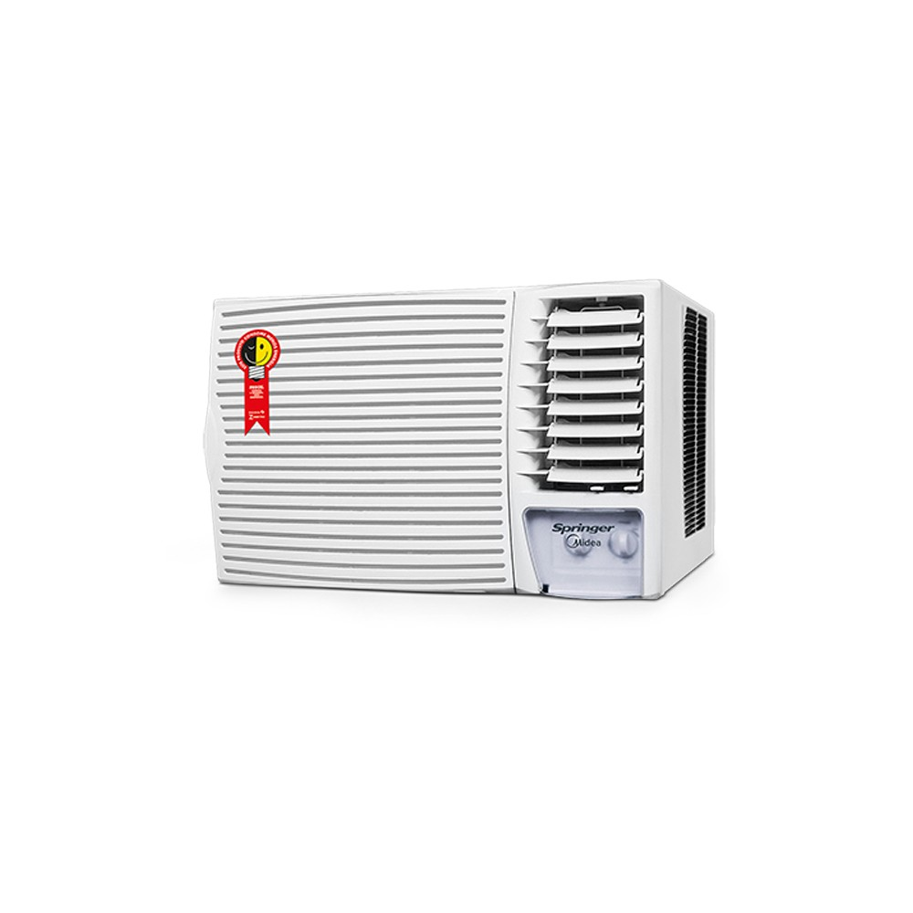 Ar Condicionado Janela Springer Midea Silentia 12.000 BTUs Quente/Frio R-410A Mecânico