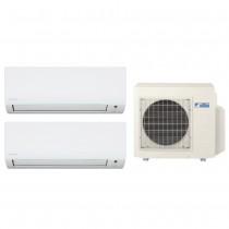 Ar Condicionado Multi Split Advance Inverter Daikin 1X12.000 + 1X18.000 + Cond. 18.000 BTUs Quente/Frio - 220V