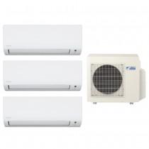 Ar Condicionado Multi Split Advance Inverter Daikin 3X9.000 + Cond. 18.000 BTUs Quente/Frio - 220V