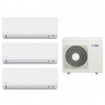 Ar Condicionado Multi Split Advance Inverter Daikin 3X18.000 + Cond. 34.000 BTUS Quente/Frio - 220V