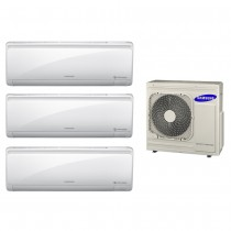 Ar Condicionado Multi Split Inverter Samsung 3x18.000 e Cond. 34.000 BTUs Quente/Frio - 220V