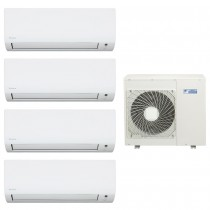 Ar Condicionado Multi Split Advance Inverter Daikin 4X9.000 e Cond. 28.000 BTUs Quente/Frio - 220V