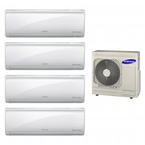 Ar Condicionado Multi Split Inverter Samsung 4x9.000 e Cond. 27.000 BTUs Quente/Frio - 220V